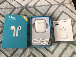 Air Pods i11 5.0 True Wireless Headset for Sale in Hemet, CA