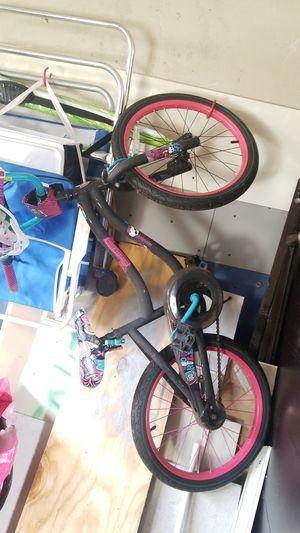 Monster high girls bike and helmut for Sale in Malden, MA