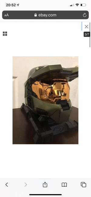 Halo 3 Legendary Edition Master Chief Helmet -Xbox 360 for Sale in Bay Point, CA