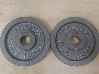 25LB Olympic Weight Pair for Sale in Keller,  TX