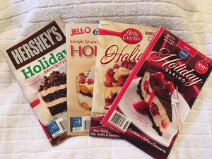 4 Holiday Baking & Desserts Recipe Booklets for Sale in Portland, OR
