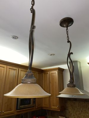 Two pendant light fixtures for Sale in Brooklyn, NY