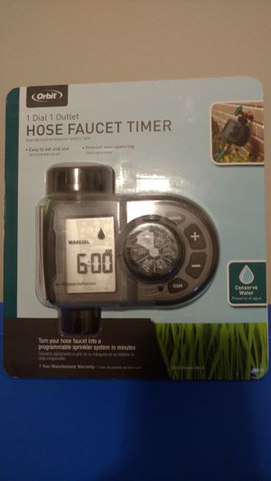 New Orbit Hose Faucet Timer for Sale in Simpsonville, SC