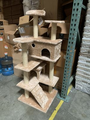 Cat scratching post /Dog bed memory foam / cat water fountain / automatic feeder/ cat tower/ crate for Sale in Ontario, CA