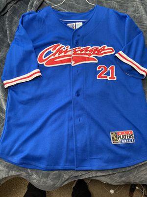 Chicago Cubs Sammy Sosa Jersey for Sale in Renton, WA