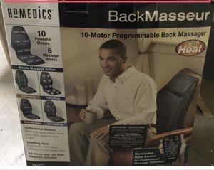 $33 OBO- NEW, BOX TOP JUST OPEN - MASSAGE & HEAT SEAT - 10-Motor Programmable massager for Sale in Glendale, AZ