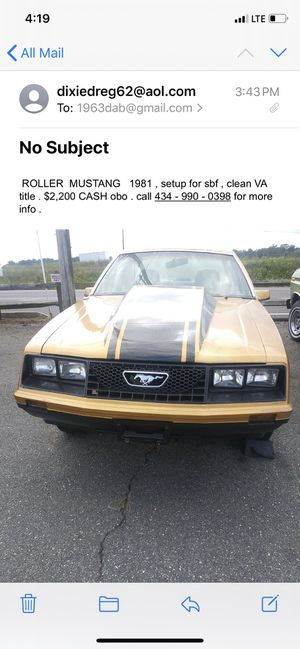 Ford Mustang for Sale in Charlottesville, VA