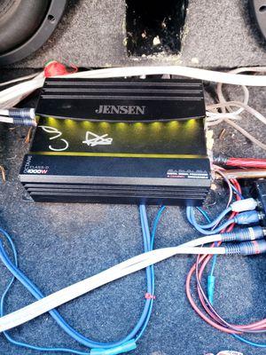 Jensen 1000w class d mono amplifier for Sale in Durham, NC