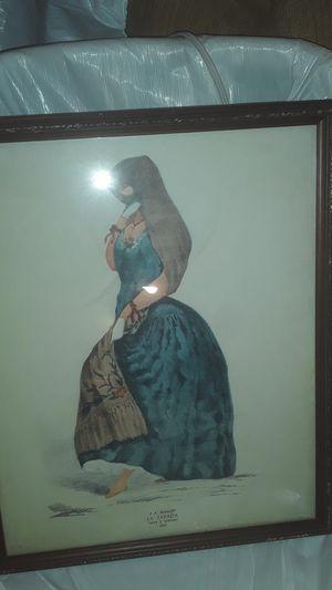 A . A Bonnaffe. LA TAPADA (saya y manto) 1855. for Sale in Los Angeles, CA