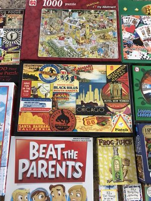 Puzzles and Games Extravaganza for Sale in Seattle, WA