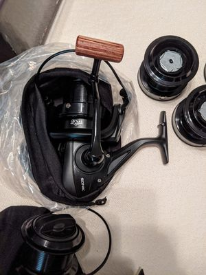 New spinning fishing reels for Sale in Dallas, TX