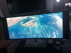 HP envy 34 inch curved monitor for Sale in Vancouver, WA