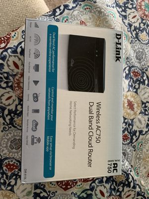 D Link wireless router dual band for Sale in Franklin, TN