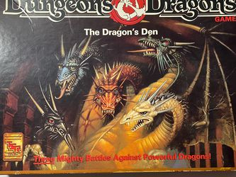 THE DRAGONS DEN: DUNGEONS AND DRAGONS BOARD GAME for Sale in Modesto,  CA