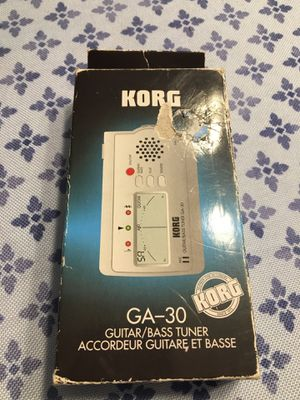 Korg GA-30 Guitar Bass tuner for Sale in Marlborough, CT