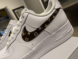 Nike AF 1 x Louis Vuitton (Dark Brown) for Sale in Tempe, AZ