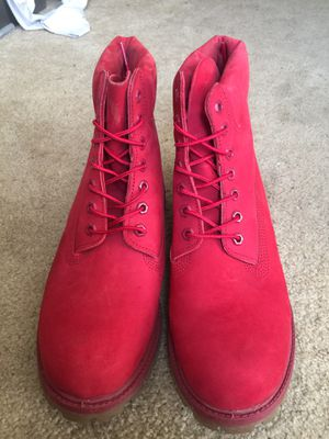 Red Timberlands for Sale in Daly City, CA