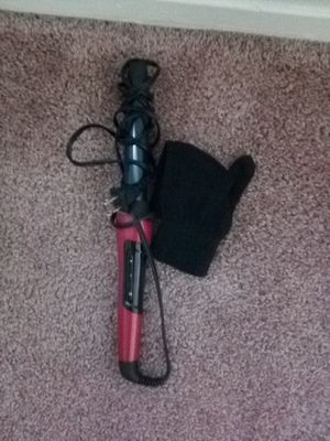 Curling wand with glove for Sale in Fresno, CA