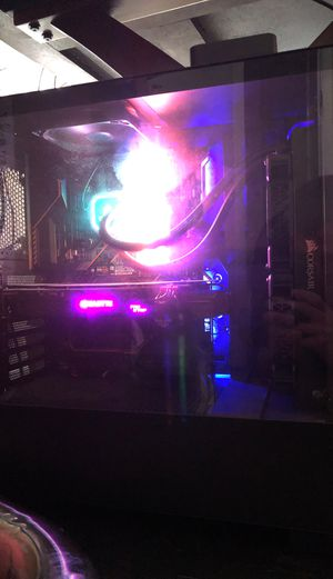 Gaming PC 8700k 1060 6gb 16gb m2 SSD for Sale in San Marcos, CA
