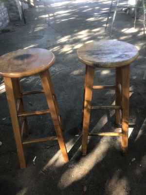 Wooden stools for Sale in Houston, TX