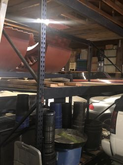 Shelving Metal Rack Storage Unit for Sale in Tacoma,  WA