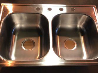 Kitchen Sink Stainless Steel for Sale in Bellflower,  CA