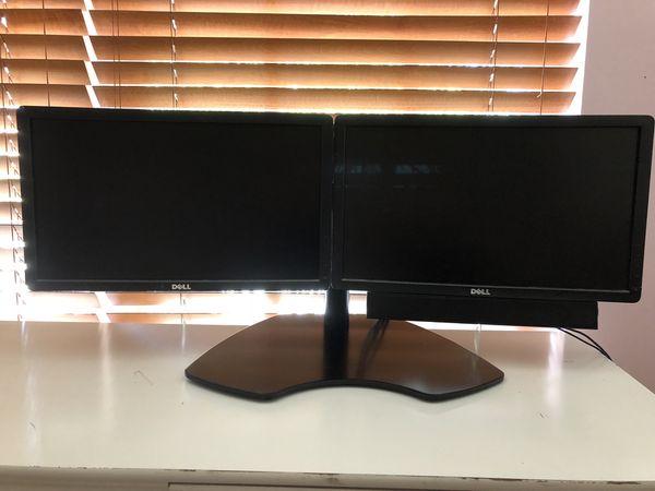 Dual Dell Monitors
