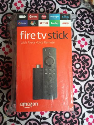 Fire TV stick with the Alexa voice Remote for Sale in Waterbury, CT