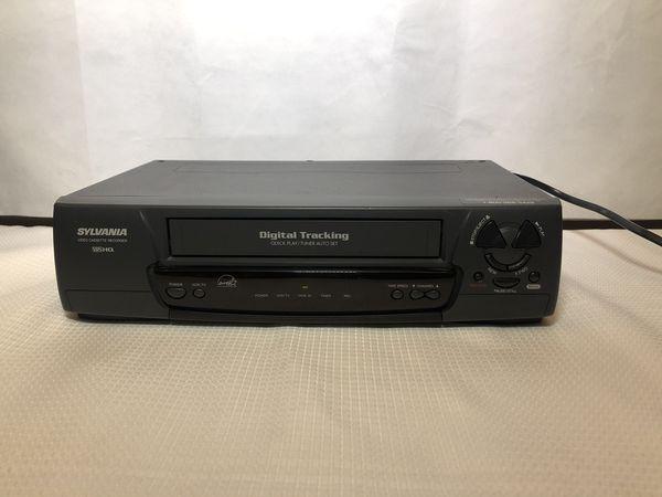 Sylvania KVS299K VCR VHS HQ Video Cassette Recorder Player Recording Tested