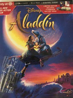 "NEW - ""ALADDIN"" - 4K Ultra HD - Disney for Sale in Fresno,  CA"