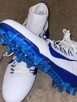 Nike Alpha Huarache 7 Elite Lacrosse Cleats Mens Size 9 1/2 Blue CJ0224-101 new for Sale in Pasadena,  CA