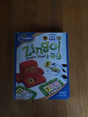Zingo for ages 4 and up for Sale in Sudbury, MA