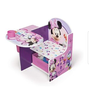 Children Chair Desk Kids Storage Bin Minnie Mouse Disney Daisy Duck Pink BRAND NEW for Sale in Los Angeles, CA