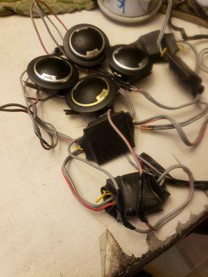 Polk audio tweeters for Sale in Raleigh, NC
