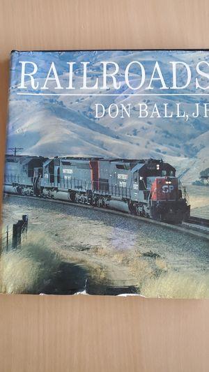 Railroads Coffee Table Book for Sale in Phoenix, AZ