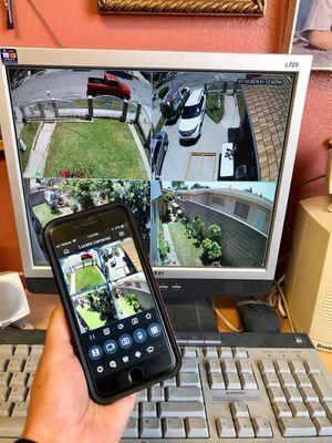 Security cameras-Cámaras de seguridad- CCTV SURVEILLANCE SYSTEM for Sale in Perris, CA
