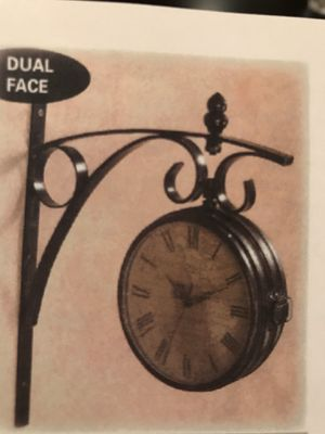 Aged Map Clock for Sale in Gibbsboro, NJ