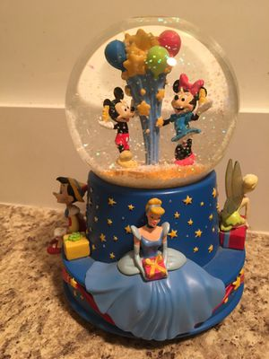 Disney's 100th Celebration Musical Snowglobe for Sale in Nashville, TN