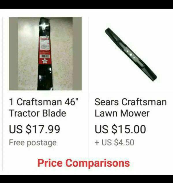 NEW CRAFTSMAN TRACTOR / MOWER BLADE