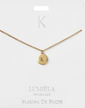 New Jewelry Gold Letter K Charm & Necklace for Sale in Spring, TX