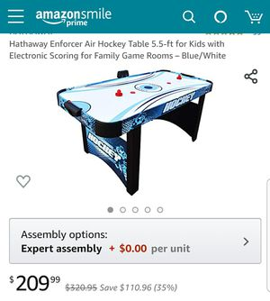 Hockey table great condition for Sale in Alexandria, VA