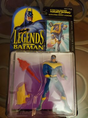 Legends of Batman Robin Has Become Nightwing Figure Vintage 1994 NIB for Sale in Nuevo, CA