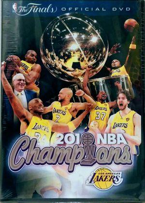 DVD -LA LAKERS 2009 - 2010 CHAMPION for Sale in North Chesterfield, VA