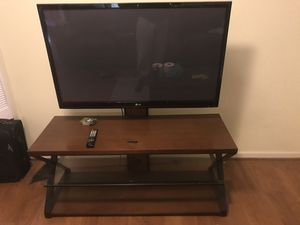 Tv with stand for Sale in Aberdeen, MD