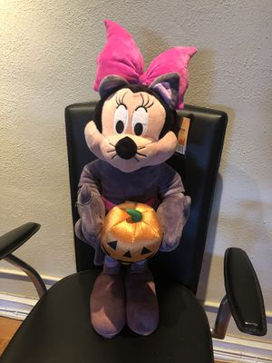 """NWT 10"""" Halloween Werewolf Minnie Mouse Pumpkin for Sale in Eastchester, NY"""