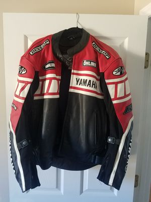 Yamaha motorcycle jacket for Sale in Fuquay-Varina, NC