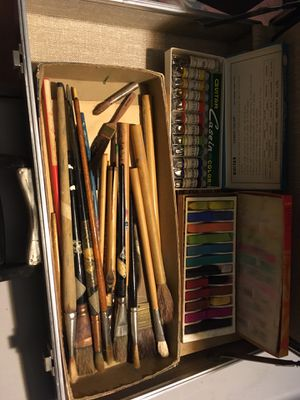 Vintage Art Supplies for Sale in Bakersfield, CA