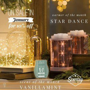 Scentsy Star Dance warmer for Sale in Murfreesboro, TN