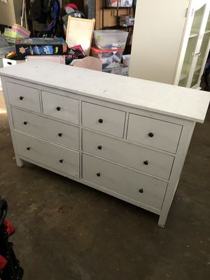 Large White Dresser for Sale in Fountain Valley, CA