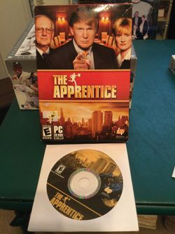 "Donald Trump ""The Apprentice"" CD PC Computer Game - Excellent Condition for Sale in Buffalo Grove,  IL"